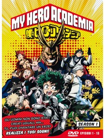 MY HERO ACADEMIA  STAGIONE 1 DVD