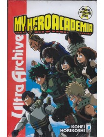MY HERO ACADEMIA  ULTRA ARCHIVE - OFFICIAL CHARACTER BOOK