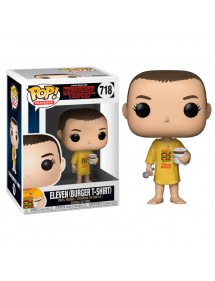 POP TELEVISION  718 STRANGER THINGS - ELEVEN (BURGER T-SHIRT)