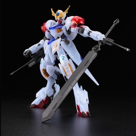 IRON-BLOODED ORPHANS GUNDAM FULL MECHANICS SCALA  1/100 BARBATOS LUPUS CLEAR COLOR VER.