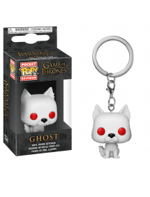 POP POCKET KEYCHAIN  GAME OF THRONES - GHOST