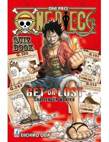 ONE PIECE  QUIZ BOOK - GET OR LOST CHALLENGER WANTED