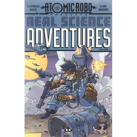 ATOMIC ROBO REAL SCIENCE ADVENTURES  3