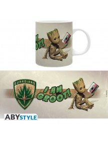 TAZZA MARVEL  GUARDIAND S OF THE GALAXY GROOT