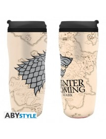 GAME OF THRONES  TRAVEL MUG WINTER IS COMING