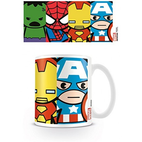 TAZZA MARVEL  AVENGERS KAWAII