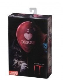 FIGURE NECA  IT ULTIMATE PENNYWISE (18CM) I HEART DERRY