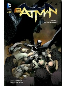 BATMAN NEW 52 NEW 52 LIMITED  1 NEW 52 LIBRARY SECONDA RISTAMPA