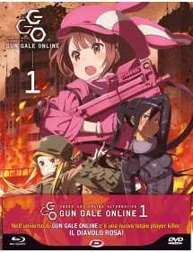 SWORD ART ONLINE ALTERNATIVE - GUN GALE ONLINE  1 BLU-RAY + DVD