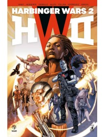 HARBINGER WARS II  VOLUME UNICO