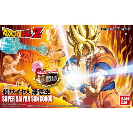 DRAGON BALL Z FIGURE-RISE STANDARD  SUPER SAIYAN SON GOKOU