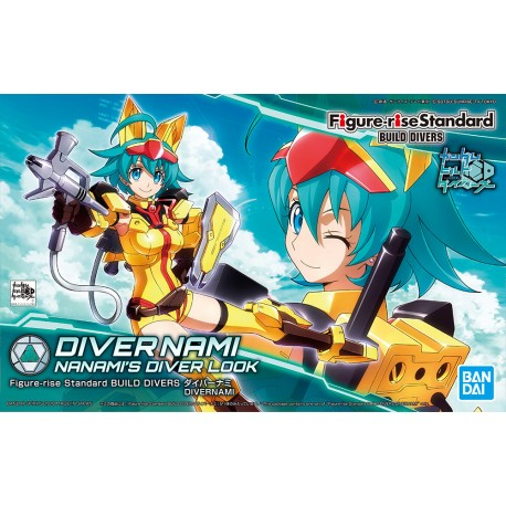 FIGURE-RISE STANDARD BUILD DRIVERS  DIVERNAMI NANAMI'S DIVER LOOK