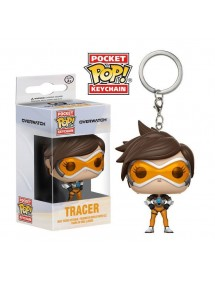 POP POCKET KEYCHAIN  OVERWATCH - TRACER