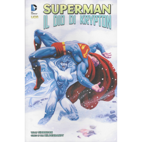 SUPERMAN IL DIO DI KRYPTON  VOLUME UNICO