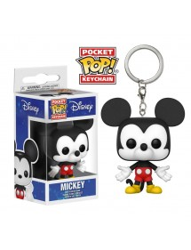 POP POCKET KEYCHAIN  MICKEY
