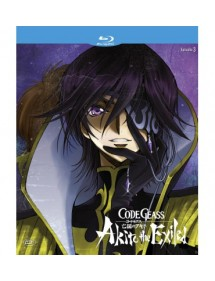 CODE GEASS AKITO THE EXILED 3 BLU-RAY