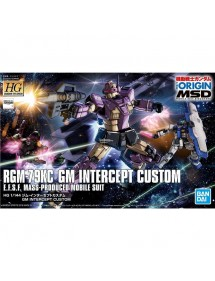 HG GUNDAM THE ORIGIN HIGH GRADE SCALA 1/144 23 RGM-79KC GM INTERCEPT CUSTOM
