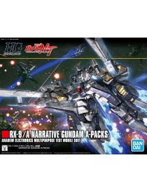 HG GUNDAM UNIVERSAL CENTURY SCALA 1:144 218 RX-9/A NARRATIVE GUNDAM A-PACKS