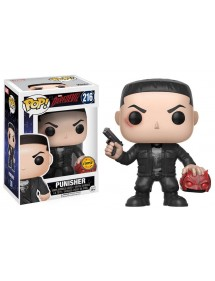 POP MARVEL  216 DAREDEVIL - PUNISHER + CHASE LIMITED EDITION
