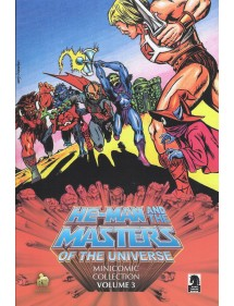 MANICOMIC COLLECTION  3 HE-MAN AND THE MASTERS OF THE UNIVERSE