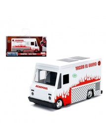METALS DIE CAST SCALA 1/32  DEADPOOL TACO TRUCK