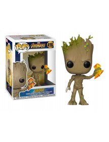 POP MARVEL  416 AVENGERS INFINITY WAR - GROOT WITH STORMBREAKER