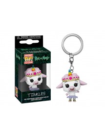 POP POCKET KEYCHAIN  RICK AND MORTY - TINKLES