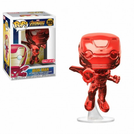 POP MARVEL  285 AVENGERS INFINITY WAR - IRON MAN SPECIAL EDITION