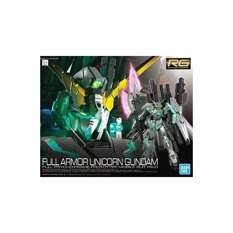 RG GUNDAM REAL GRADE SCALA 1:144  30 FULL ARMOR UNICORN GUNDAM