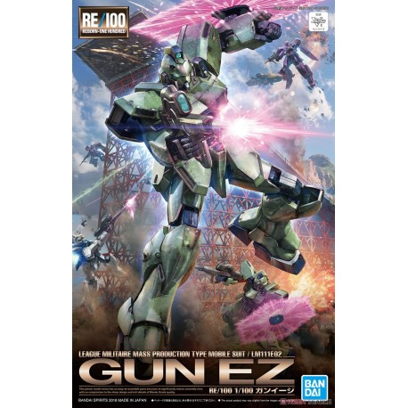 GUNDAM REBORN ONE-HUNDRED SCALA 1/100  GUN EZ