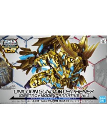 SD GUNDAM CROSS SILHOUETTE  7 UNICORN GUNDAM 3 PHENEX
