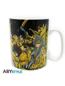 TAZZA  SAINT SEIYA - GOLD SAINTS