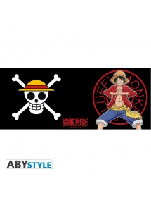 ONE PIECE  TAZZA LUFFY NEW WORLD