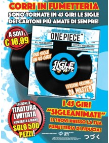 SIGLE ANIMATE 45 GIRI  ONE PIECE