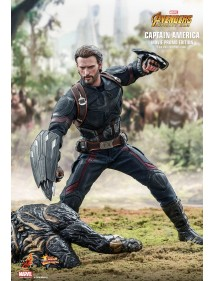 HOT TOYS  AVENGERS INFINITY WAR CAPTAIN AMERICA PROMO VERSION