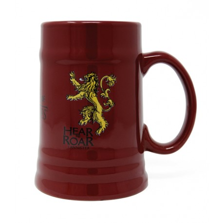 TAZZA  GAME OF THRONES - BOCCALE RED LANNISTER