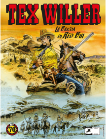 TEX WILLER  2 LA BANDA DI RED BILL