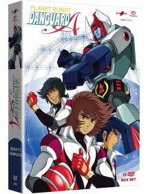 PLANET ROBOT DANGUARD ACE  BOX COMPLETO 10 DVD