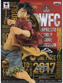 BWFC BANPRESTO WORLD FIGURE COLOSSEUM  LUFFY