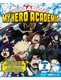 MY HERO ACADEMIA  STAGIONE 2 BLU-RAY BOX 1