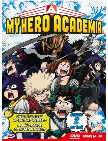 MY HERO ACADEMIA  STAGIONE 2 DVD BOX 1