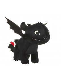 PELUCHE  DRAGON TRAINER 3 - TOOTHLESS 60CM GLOW IN THE DARK