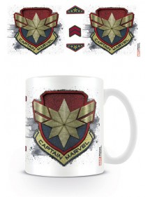 TAZZA MARVEL  CAPTAIN MARVEL BADGE