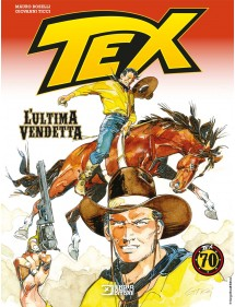 TEX L'ULTIMA VENDETTA  VOLUME UNICO