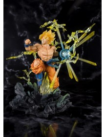 DRAGON BALL FIGUARTS ZERO  DRAGON BALL Z - SUPER SAIYAN SON GOKOU - THE BURNING BATTLES