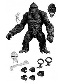 KING KONG  BLACK&WHITE VERSION 18CM