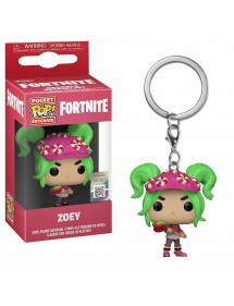 POP POCKET KEYCHAIN  FORTNITE - ZOEY