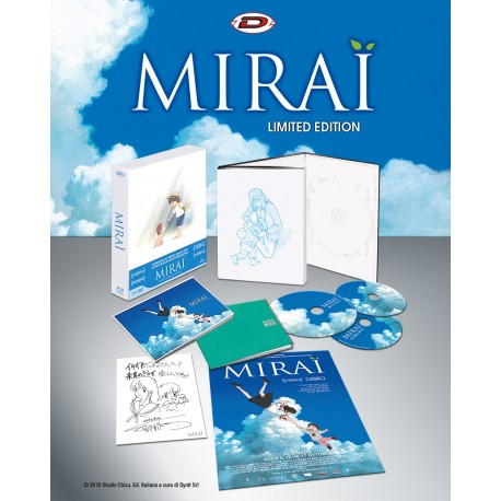 MIRAI  LIMITED EDITION DIGIPACK BOX 2BLU-RAY+DVD