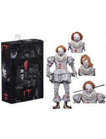 FIGURE NECA  IT ULTIMATE PENNYWISE WELL HOUSE