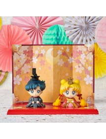 SAILOR MOON PETIT CHARA USAGI & MAMORU